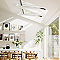 Fenêtre de toit à rotation Velux GGL Tout confort blanc CK04 55 x 98 cm
