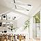 Fenêtre de toit à rotation VELUX GGL Tout confort blanc SK06 114 x 118 cm