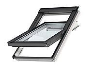 Fenêtre de toit à rotation VELUX Confort Whitefinish - bois peint en blanc L. 114 x H. 140 cm (GGL 2076 SK08)