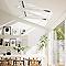 Fenêtre de toit à rotation VELUX GGL Tout confort blanc UK08 134 x 140 cm