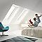 Fenêtre de toit à projection Velux GPL Tout confort blanc MK04 78 x 98 cm