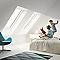 Fenêtre de toit à projection VELUX GPL Tout confort blanc MK08 78 x 140 cm