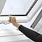 Fenêtre de toit à projection Velux GPL Tout confort blanc SK08 114 x 140 cm