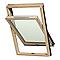 Fenêtre de toit à rotation Luminatec Double vitrage bois 78 x h.98 cm