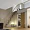 Escalier à pas alternés bois Geom Inversio l.64 cm 11 marches hêtre