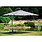 Parasol déporté en alu Easy-Sun 320 x 320 cm taupe