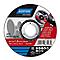 Disque de coupe métal/inox Norton 115x1x22,2mm