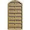 Demi-panneau bois arc BLOOMA Onora 90 x h.180 cm
