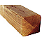 Poteau bois double arrondi STELMET 9 x 9 x 190 cm
