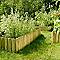 Bordure à planter bois STELMET 55 x h.35 cm