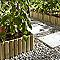 Bordure à planter bois STELMET 120 x h.35 cm