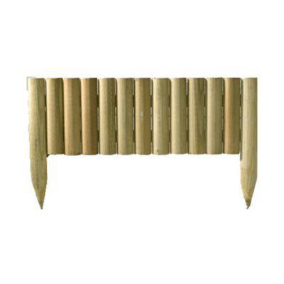 Bordure à planter bois STELMET 120 x h.35 cm | Castorama