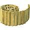 Bordure demi-rondin bois STELMET 150 x h.15 cm