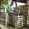 Composteur bois 290L