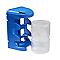 Casier à vis moyen format bleu plastique