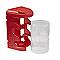 Casier à vis moyen format rouge plastique