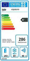 Réfrigérateur congélateur encastrable Beko ICQFD173 69L / 193L