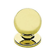 6 boutons de meuble zamak or 2 x 2,5 cm