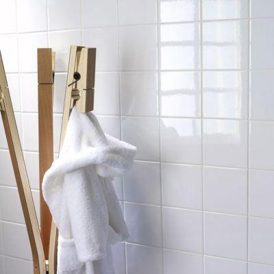 Carrelage Mur Blanc 15 X 15 Cm Promo Vendu Au Carton Castorama