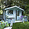 Abri de jardin bois Blooma Askola, 7,2 m² ép.28 mm