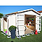 Abri de jardin bois modulable BLOOMA Solna 8,79m²