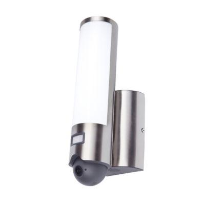 Applique extérieure LED Windsor chrome caméra intégrée IP44