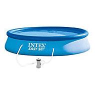 Piscine autoportante Intex Easy set ø3,96 m + épurateur