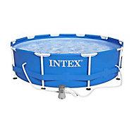 Piscine tubulaire Intex Ø 3,05m + épurateur