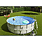 Piscine tubulaire INTEX Ultraframe ø4,27 m
