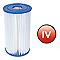 Cartouche filtrante type IV