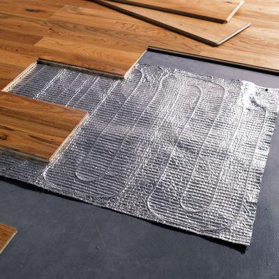 Film chauffant lectrique parquet flottant 1 5 m castorama - Sous couche carrelage pour plancher bois ...