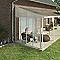 Panneau latéral Couv'Terrasse® 3 m blanc