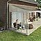 Panneau latéral Couv'Terrasse® 4 m blanc