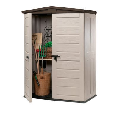 box de rangement woodland high 1810l beige castorama. Black Bedroom Furniture Sets. Home Design Ideas