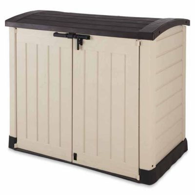 coffre ou abri poubelles polypropyl ne keter store it out arc castorama. Black Bedroom Furniture Sets. Home Design Ideas