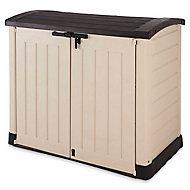 Coffre ou abri poubelles polypropylène Keter Store It Out Arc