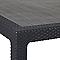 Table de jardin Symphony 160/322 x 97 cm graphite
