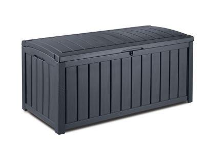 Coffre de jardin Keter Glenwood gris 390 L