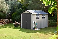 Abri de jardin résine Keter Oakland 7511, 8,01 m² ép.20 mm