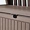 Coffre banc de rangement polypropylène Keter Patio Bench 227 L