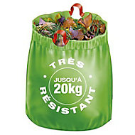 8 sacs à gazon feuilles 100 Litres