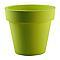 Pot rond plastique EURO3PLAST Ikon vert pastel ø100 x h.89 cm