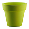 Pot Ikon en plastique vert pastel ø 120 cm