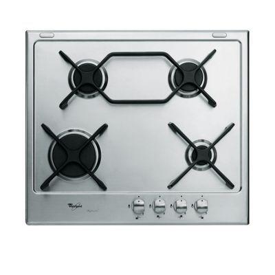 plaque de cuisson gaz 4 br leurs inox whirlpool akt661ixl castorama. Black Bedroom Furniture Sets. Home Design Ideas