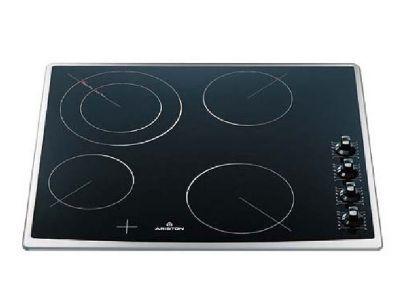 plaque de cuisson vitroc ramique 4 radiants hotpoint krm 641 d x castorama. Black Bedroom Furniture Sets. Home Design Ideas