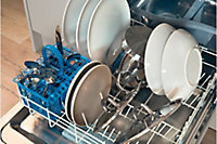 Lave-vaisselle tout intégrable 60 cm blanc Indesit