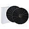 2 filtres à charbon INDESIT TYPE D145