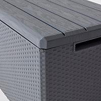 Coffre de jardin Toomax Portofino gris 340 L