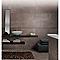 Carrelage sol et mur bordeaux 30 x 60,4 cm Langon (vendu au carton)