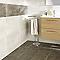 Carrelage sol et mur marron 30 x 60 cm Dourtio (vendu au carton)